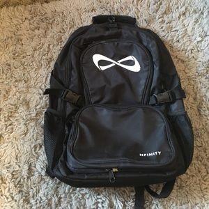 NFINITY Rhinestone Logo Backpack